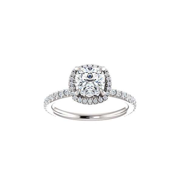 Noelle Moissanite Diamond Ring