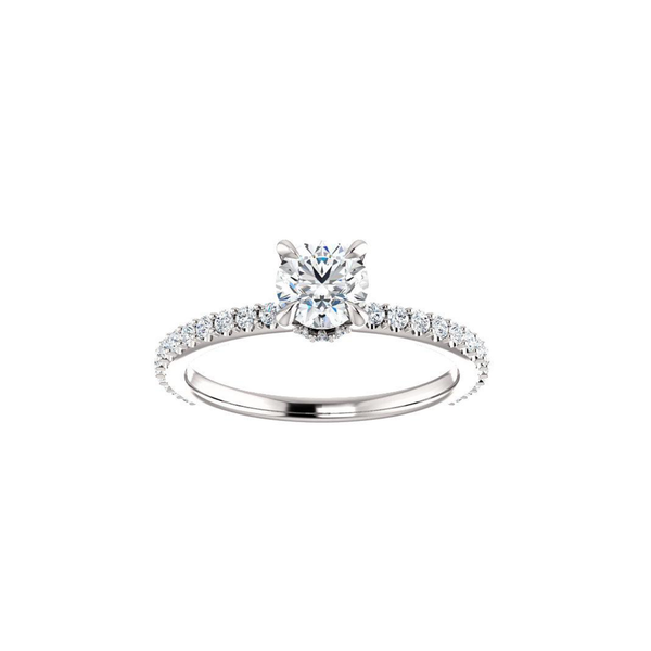 Blaise Moissanite Diamond Ring