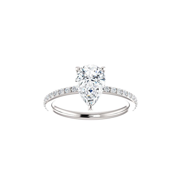 Delphine Moissanite Diamond Ring