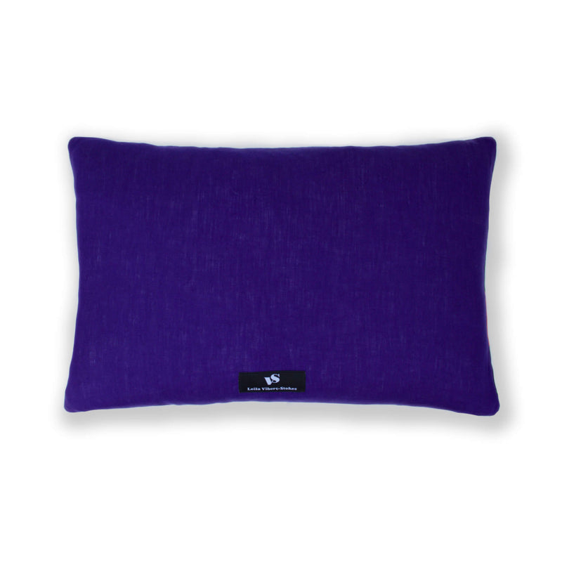 Hedgerow Haze Rectangular Cushion