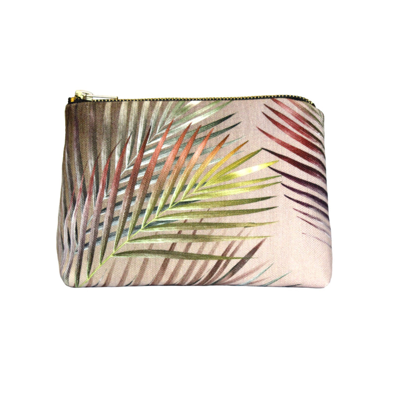Sand Arecace Make-up Bag