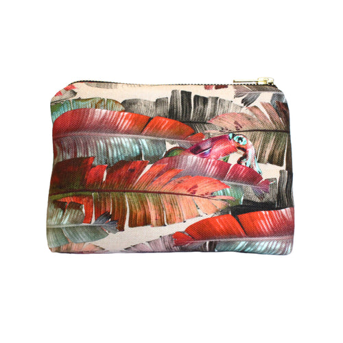Leila Vibert-Stokes sustainable fun Dust Paradiziaca linen makeup bag gift for her