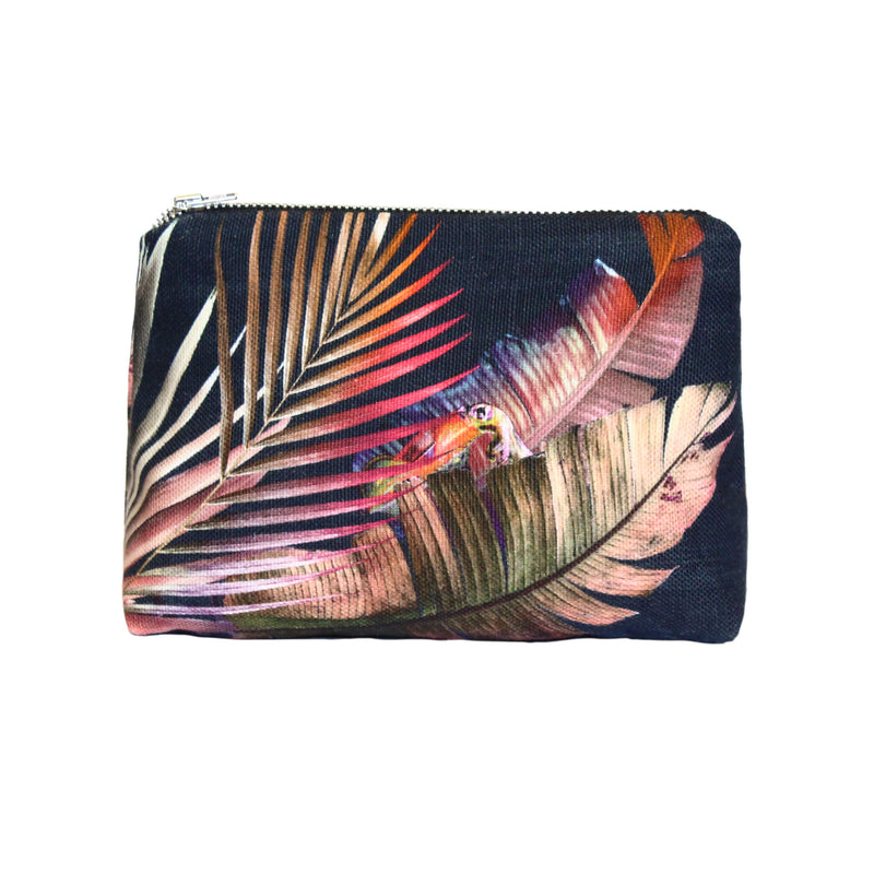 Navy Cornucopia Make-up Bag