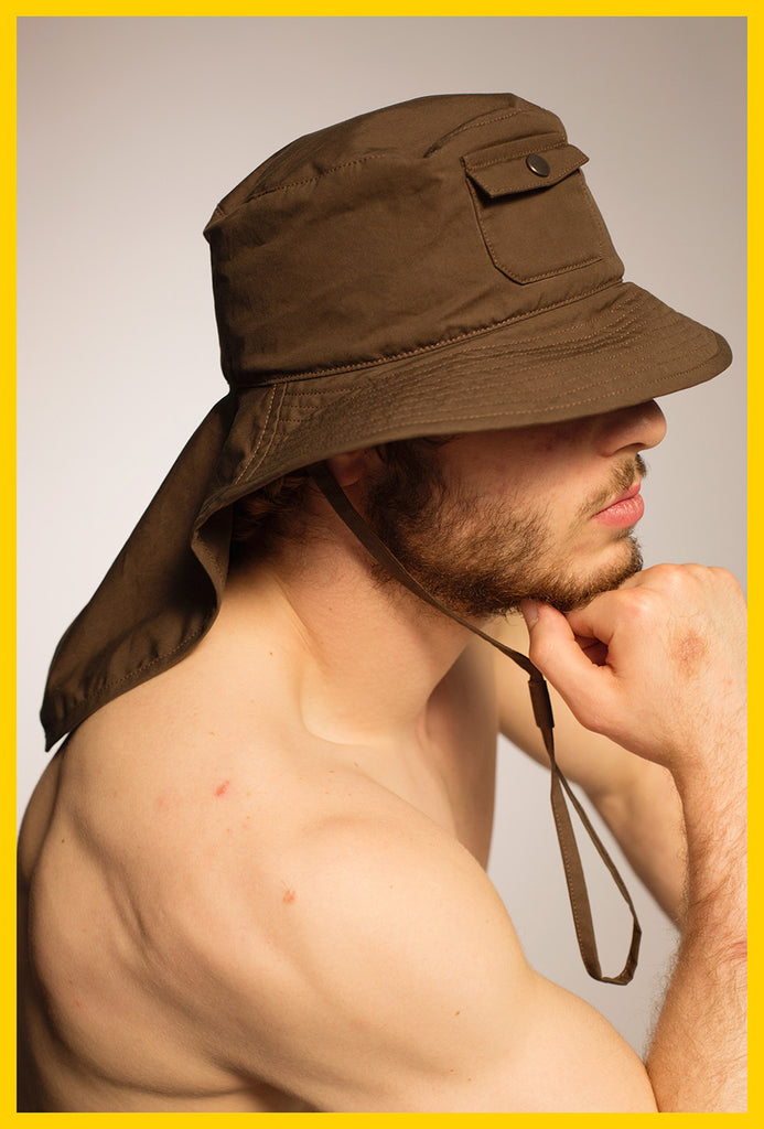 Mullet Hat — Brown