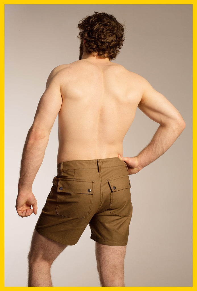 Ranger Shorts — Brown