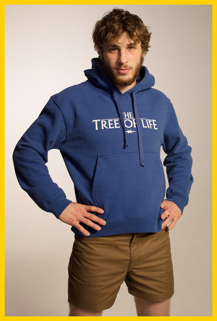 Tree of Life Hoodie — Blue