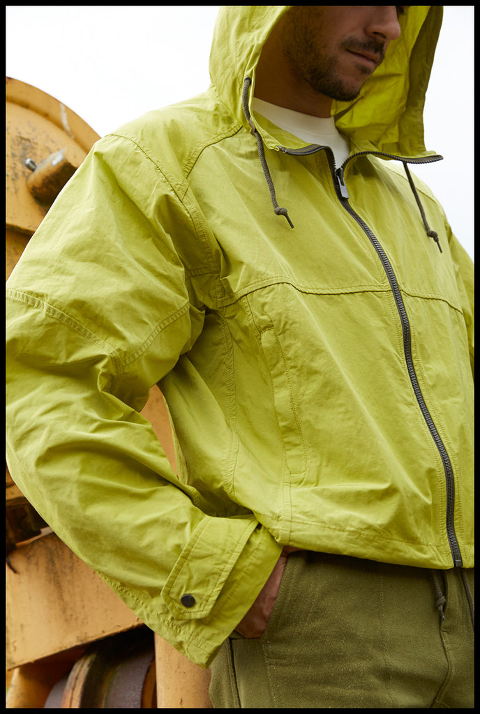 Trekking Jacket - Leaf Nylon