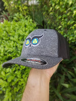 PhotonPhreaks phOwl Flexfit Mesh Back Trucker Flashlight Hat - PhotonPhreaks