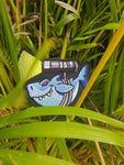 PhotonPhreaks Shark Phreak Velcro Backed Embroidered Flashlight Morale Patch - PhotonPhreaks