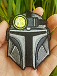 PhotonPhreaks Phreakolorian Glow in the Dark Velcro Backed Embroidered Flashlight Morale Patch - PhotonPhreaks