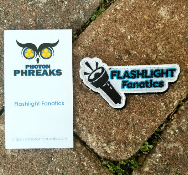 Flashlight Fanatics Velcro Backed Morale Patch