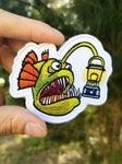 PhotonPhreaks Phreaky Phish Embroidered Patch - PhotonPhreaks
