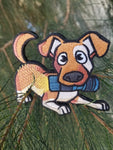 Pupper Patch; Velcro Backed Flashlight Embroidered Morale Patch by PhotonPhreaks