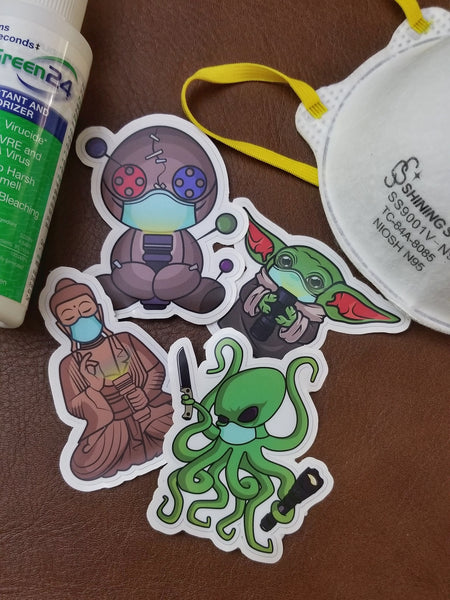 PhotonPhreaks Flashlight Stickers - PPE Phreaks Edition