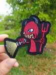 PhotonPhreaks Return of the Devil Velcro Backed Embroidered Flashlight Morale Patch - PhotonPhreaks