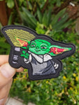 PhotonPhreaks Baby Phoda2 Velcro Backed Embroidered Flashlight Morale Patch
