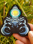 PhotonPhreaks Glow in the Dark Stinging Lumens Velcro Backed Embroidered Scorpion Flashlight Morale Patch - PhotonPhreaks
