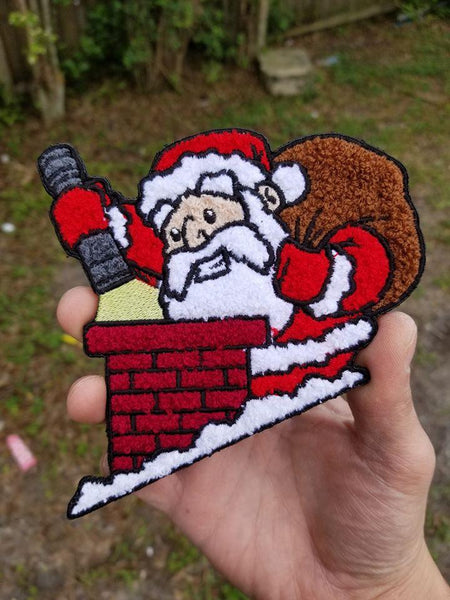 PhotonPhreaks Santa XL Chenille Patch
