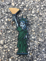 Statue of Luminosity Velcro Backed Morale Patch (50% OFF BLOWOUT)