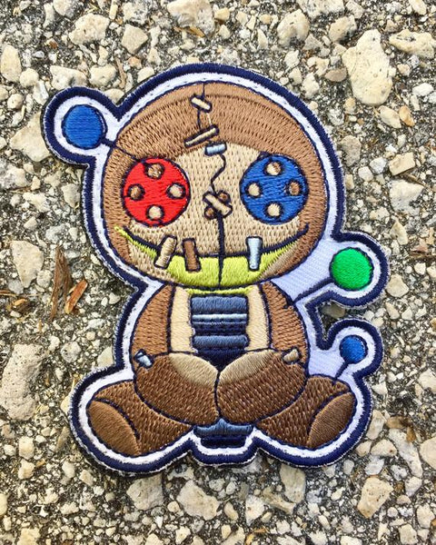 Voodoo Phreak Velcro Backed Morale Patch - PhotonPhreaks
