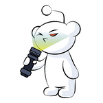 r/flashlight Sticker