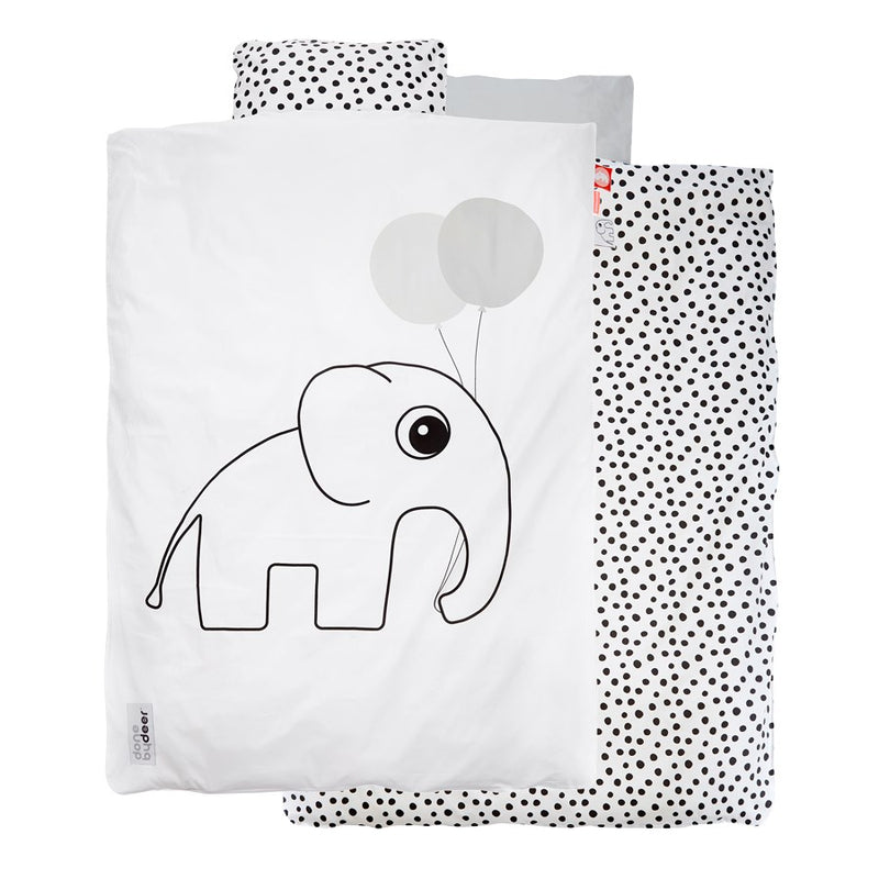 Junior Bedding Elphee White