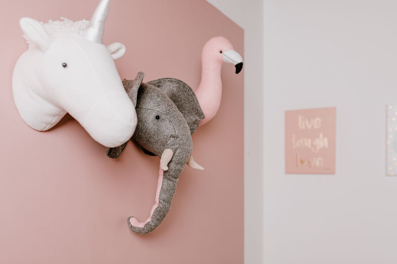Elephant Animal Wall Head