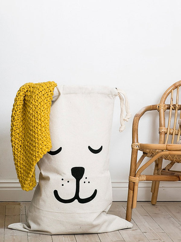 Fabric Bag Sleeping Bear