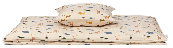 Ingeborg Bed Linen Junior Sandy Safari