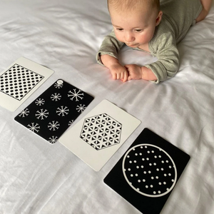 0+ Month Sensory Collection - Baby Development Cards