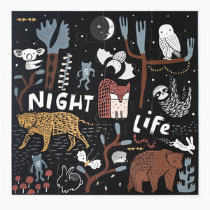 Night Floor Puzzle - Large