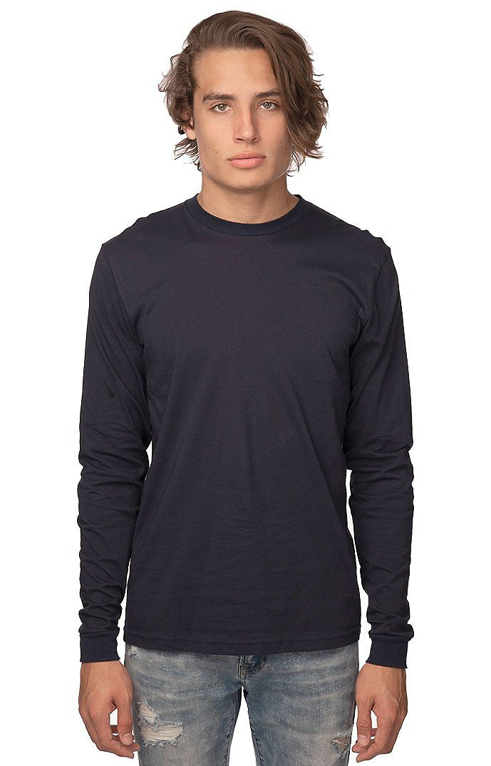 Unisex Organic Cotton Long Sleeve Tee