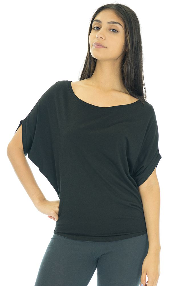 Women's Viscose Organic Bamboo & Organic Cotton Off Shoulder Top