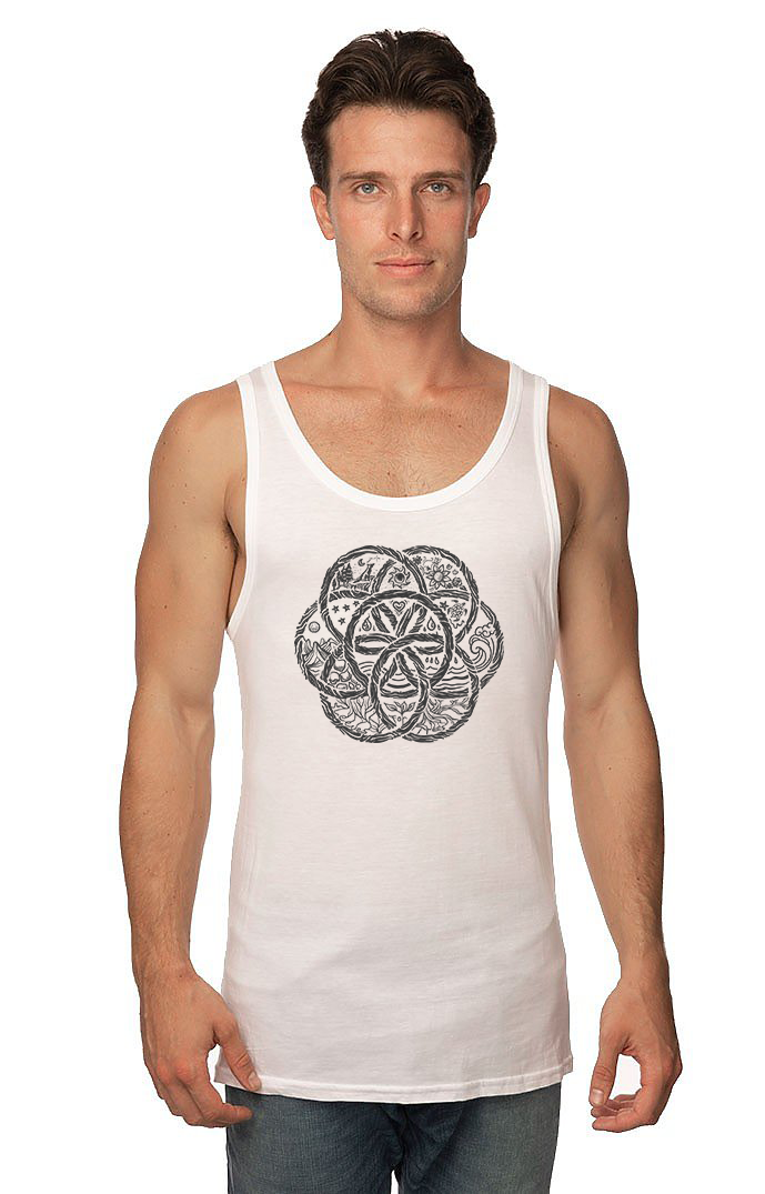 Unisex Viscose Bamboo Organic Cotton Tank United Earth