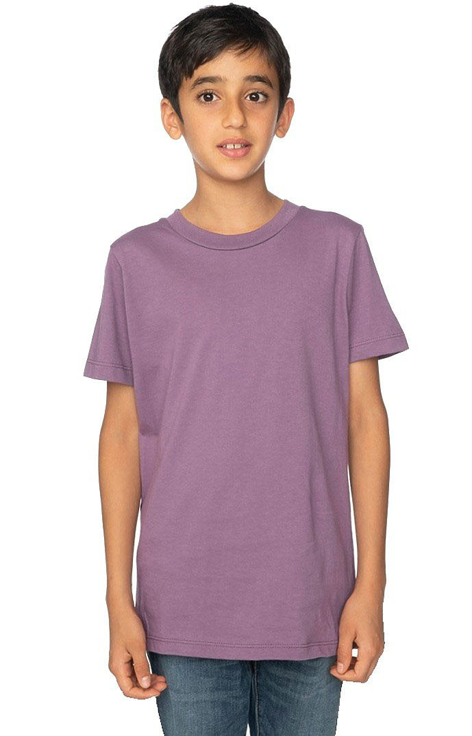 Organic Cotton Youth Short Sleeve Crew Tee