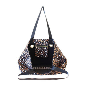 Neoprene Beach Bag Leopard