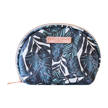 Load image into Gallery viewer, Saffiano Small Curved Cosmetic Bag Atoll