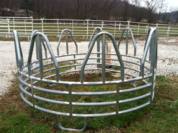 Hay Ring, Galvanized, Horse