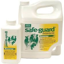 Safe-Guard Wormer Suspension for Cattle & Goats