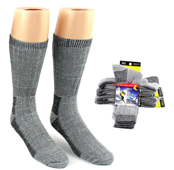 Merino Wool Blend Socks for Men