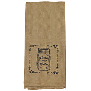 Kitchen Towel, Jar Home Sweet Home