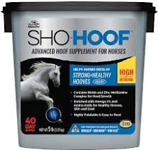 SHO-HOOF Advanced Hoof Supplement for Horses, 5lb