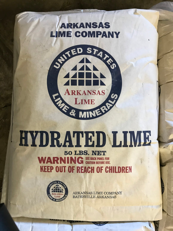 Lime, Hydrated (Odor Control), 50lb