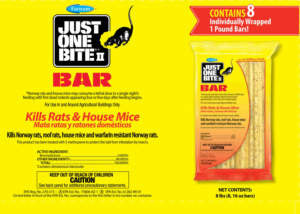 JUST ONE BITE II BAR - Rat Bait