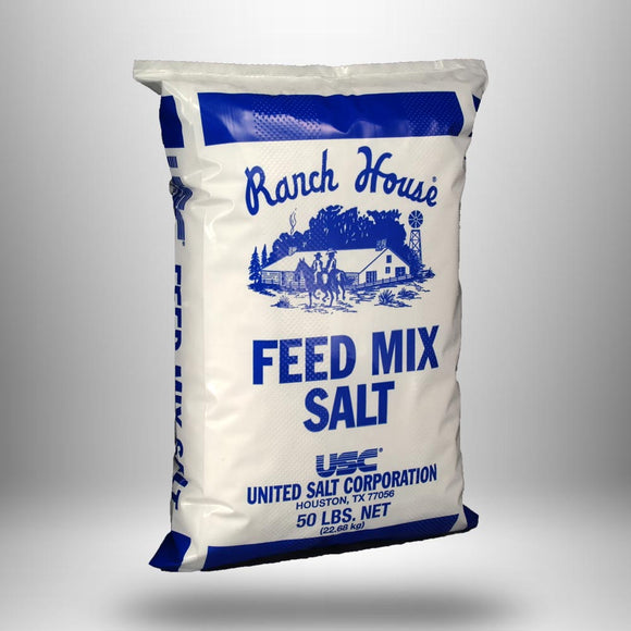Salt, White Mixing, 50lb