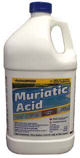 Muriatic Acid, 1gal