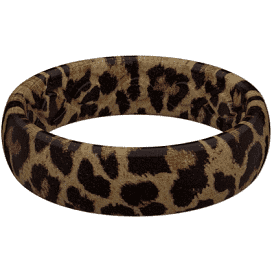Groove Aspire Leopard Silicone Ring