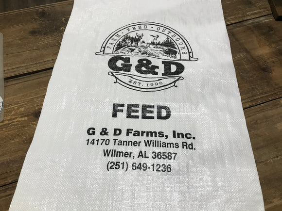 G&D Feed Bag