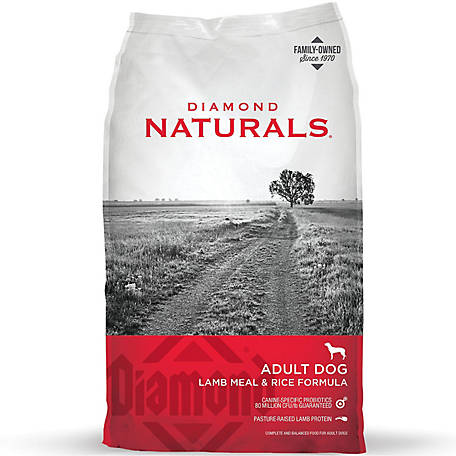 Diamond Naturals Adult Dog Food, Lamb & Rice