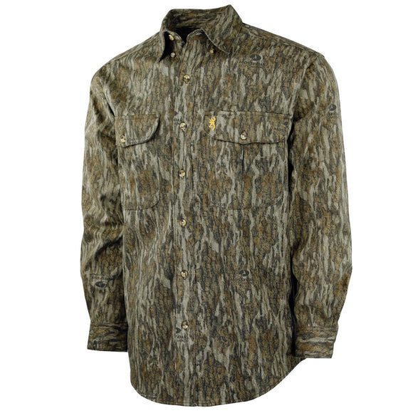 Wasatch Long Sleeve Button Up Shirt, Bottomland
